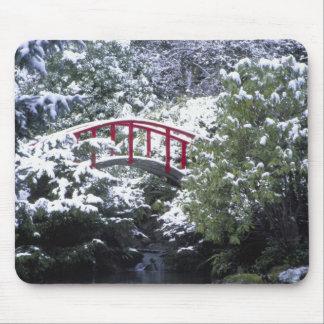 N.A., USA, Washington, Seattle. Moon bridge in 2 Mouse Pad