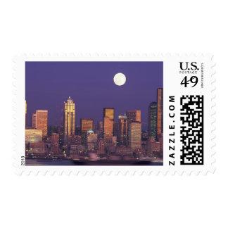 N A USA Washington Seattle Seattle skyline Postage Stamp