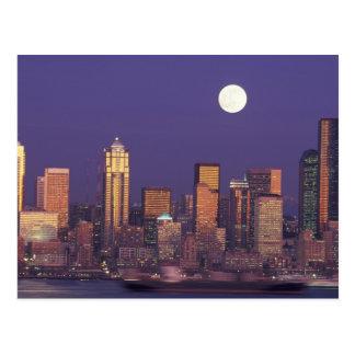 N A USA Washington Seattle Seattle skyline Postcards