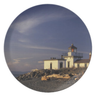 N.A., USA, Washington, Seattle Westpoint Melamine Plate