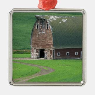 N.A., USA, Washington, Whitman County. Old Metal Ornament