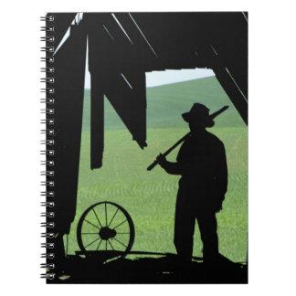 N.A., USA, Washington, Whitman County. Spiral Notebook