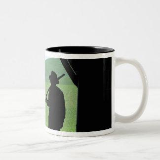 N.A., USA, Washington, Whitman County. Two-Tone Coffee Mug