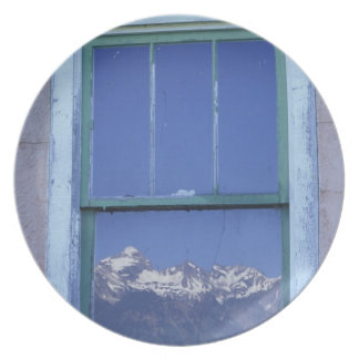 N.A., USA, Wyoming, Grand Teton National Park, 2 Melamine Plate