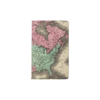 N America Pocket Moleskine Notebook
