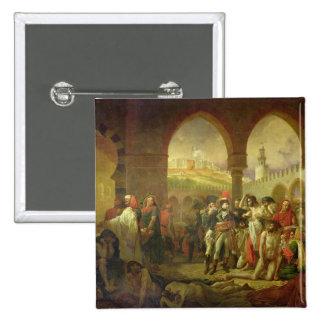 N. Bonaparte visiting the plague stricken of Button