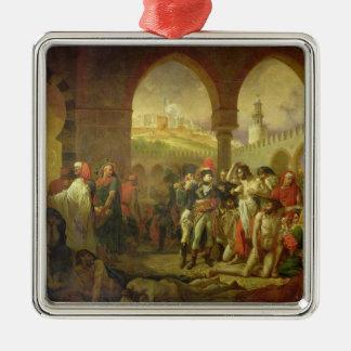 N. Bonaparte visiting the plague stricken of Metal Ornament