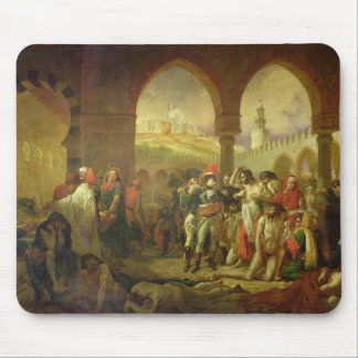 N. Bonaparte visiting the plague stricken of Mouse Pad