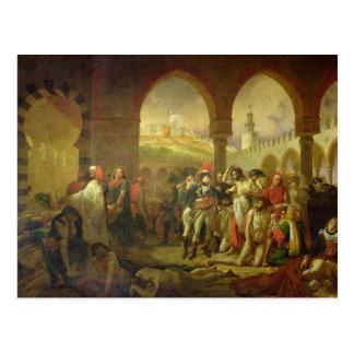 N. Bonaparte visiting the plague stricken of Postcard