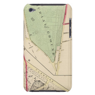 N Burial Ground and Woonsocket Company Atlas Map Case-Mate iPod Touch Case