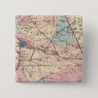 N Burlington County, NJ Pinback Button