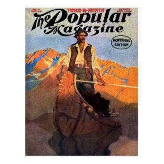 N.C. Wyeth - revista popular, noviembre de 1909 Tarjetas Postales