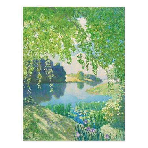 N. C. Wyeth River of Sleep CC0623 Postcard