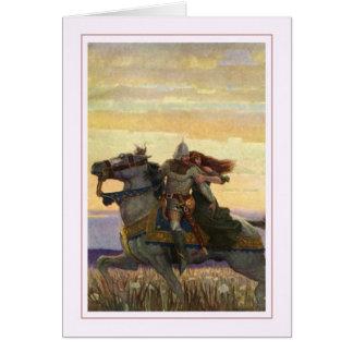 N C Wyeth Tarjeta De Felicitación
