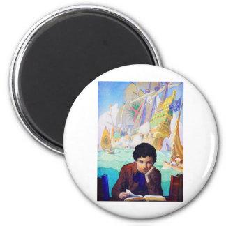 N C Wyeth's Tales Of Adventure Magnet
