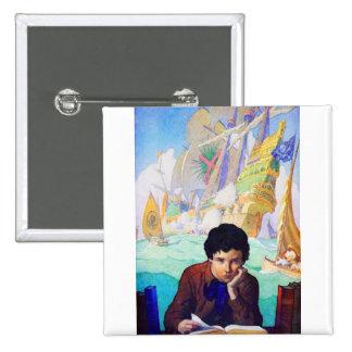 N C Wyeth's Tales Of Adventure Pins