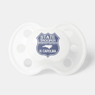 N. Carolina State Trooper To Protect And Serve BooginHead Pacifier
