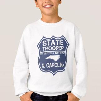 N. Carolina State Trooper To Protect And Serve Sweatshirt