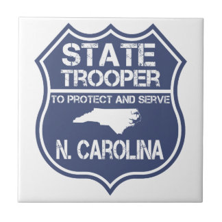N. Carolina State Trooper To Protect And Serve Tile