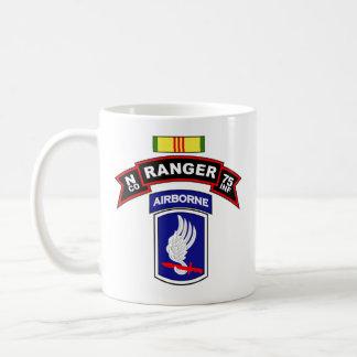 N Co, 75th Infantry - Ranger - 173d Abn, Vietnam Coffee Mug