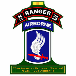N Co, 75th Infantry Regiment - Rangers, Vietnam Cutout