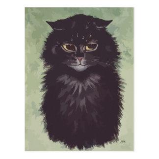 N° de pintura 2 del gato persa postales