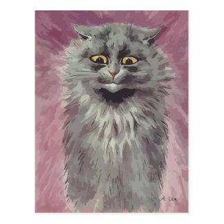 N° de pintura 3 del gato persa postal