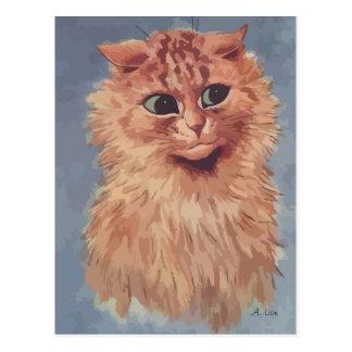 N° de pintura 6 del gato persa postales