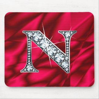 "N ""Diamond Bling"" Mousepad"