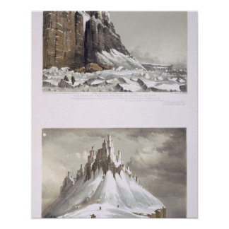 N.E. Cape of America and part of Leopold Island (t Print