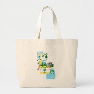 N ECOBAG colorful (N-ECOBAG COLORFUL) Large Tote Bag