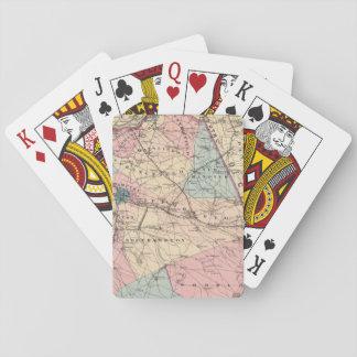 N el condado de Burlington, NJ Cartas De Póquer