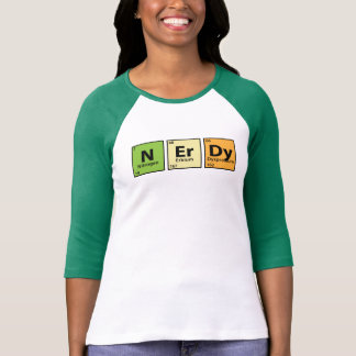 N.Er.Dy {Nerdy Periodic Table} T-Shirt