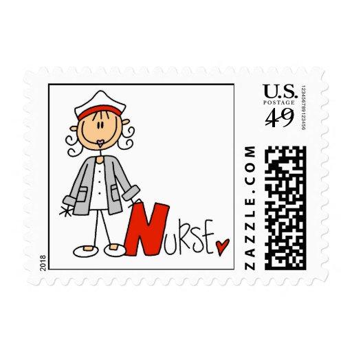 N está para la enfermera sellos