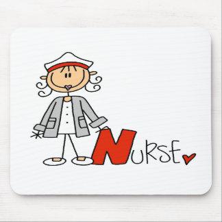 N está para la enfermera tapetes de ratones