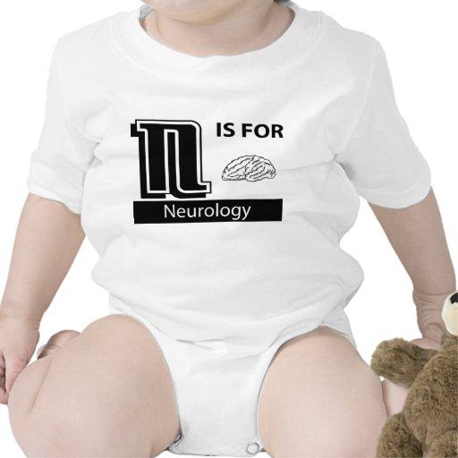 N está para la neurología camiseta