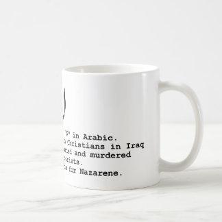N está para la taza del Nazarene