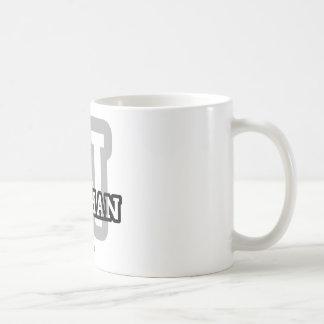 N está para Nathan Tazas De Café