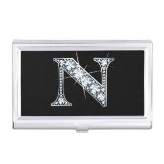 "N Faux-""Diamond Bling"" Business Card Holder"