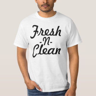N fresca limpia camisas