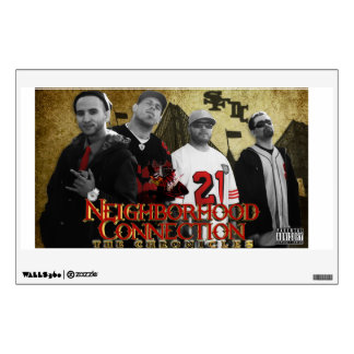 N. H. C. HEART & SHADOW OF THE CITY GROUP POSTER WALL DECAL
