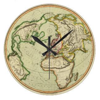 N. Hemisferio, avión de Londres Relojes De Pared