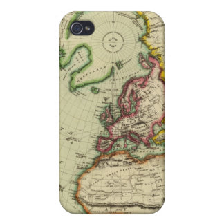 N Hemisphere, plane of London Case For iPhone 4
