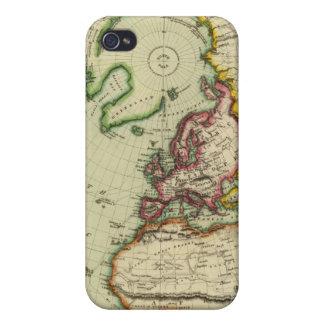 N Hemisphere, plane of London Case For iPhone 4