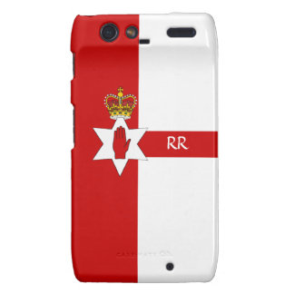 N Ireland Ulster Red Hand Flag Motorola Droid RAZR Droid RAZR Covers