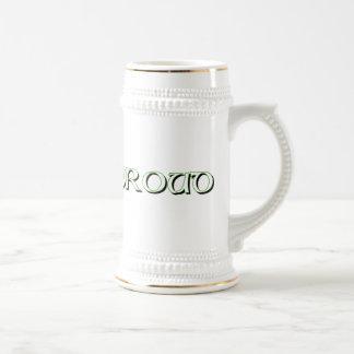 n irlandesa orgullosa tazas de café