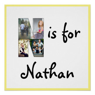 N is for Name Poster