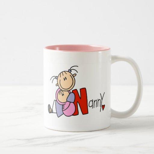 N is for Nanny Mug
