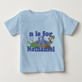 N is for Nathaniel Infant T-shirt