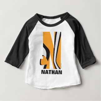 N is for Nemo   Add Your Name Baby T-Shirt